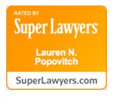Lauren Popovitch, Super Lawyers