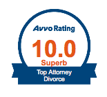 Avvo Superb Divorce Attorney