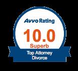 Avvo Superb Divorce Attorney